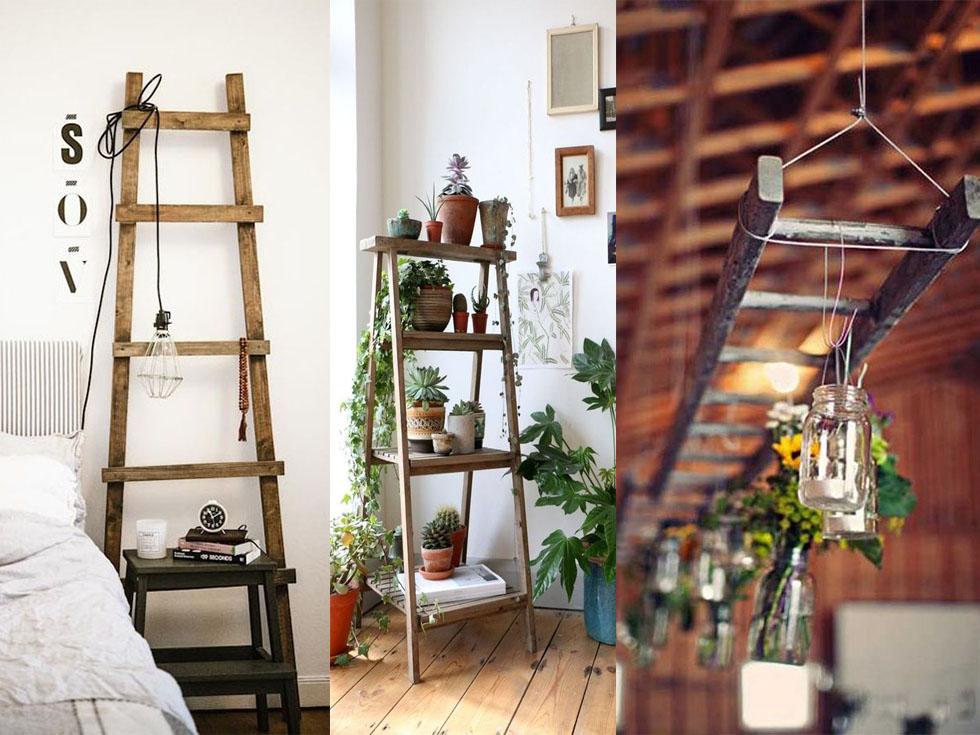 10 incre bles formas de reciclar escaleras de madera Casa y ideas