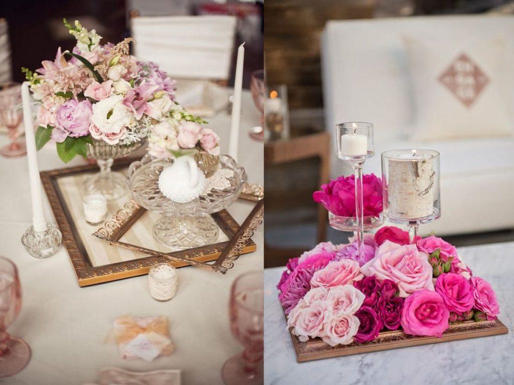 7 centros de mesa para la decoración de bodas originales