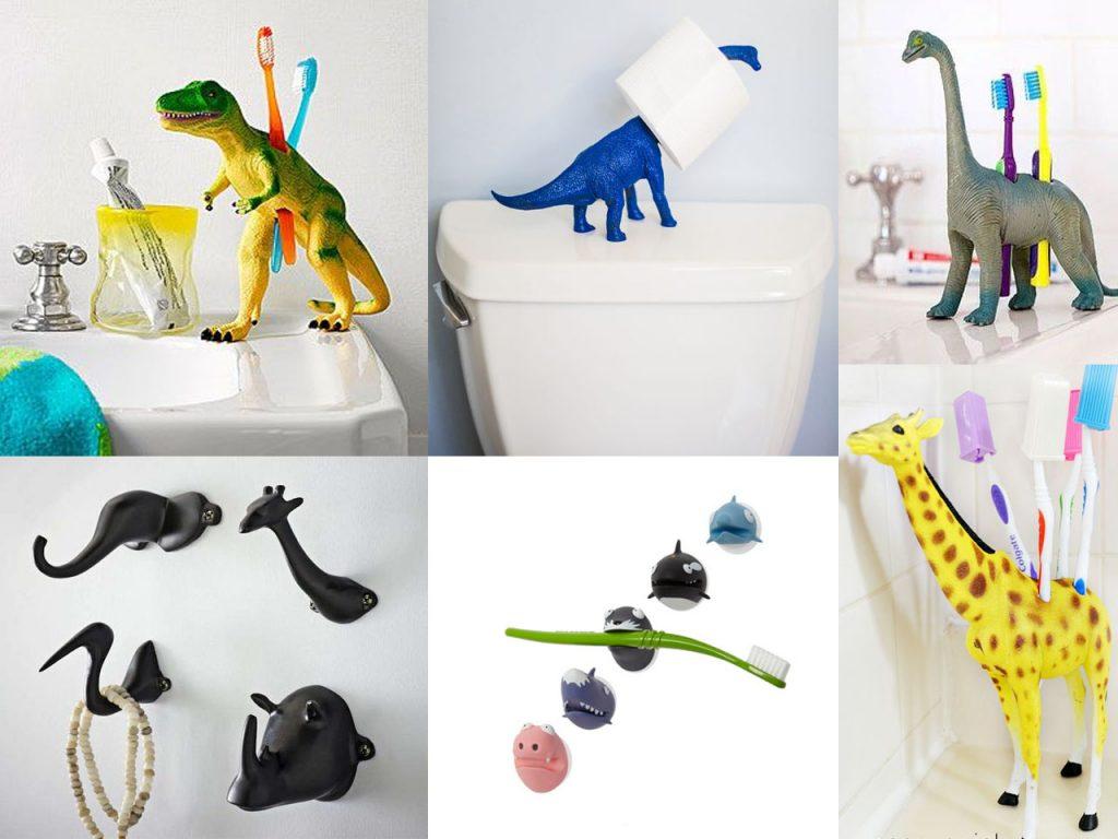 reciclar juguetes para el baño