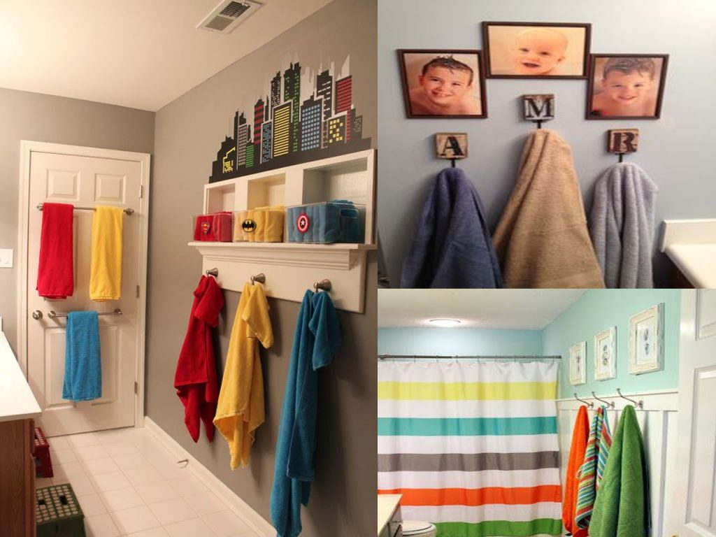 toallas de colores