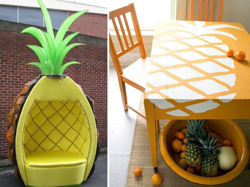 Decoraci n con pi as exotismo para tu hogar - Pinas de pino para decorar ...