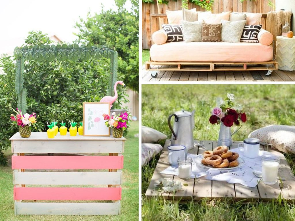 Decorar jardin con palets beautiful ideas para la for Jardin colgante con palets