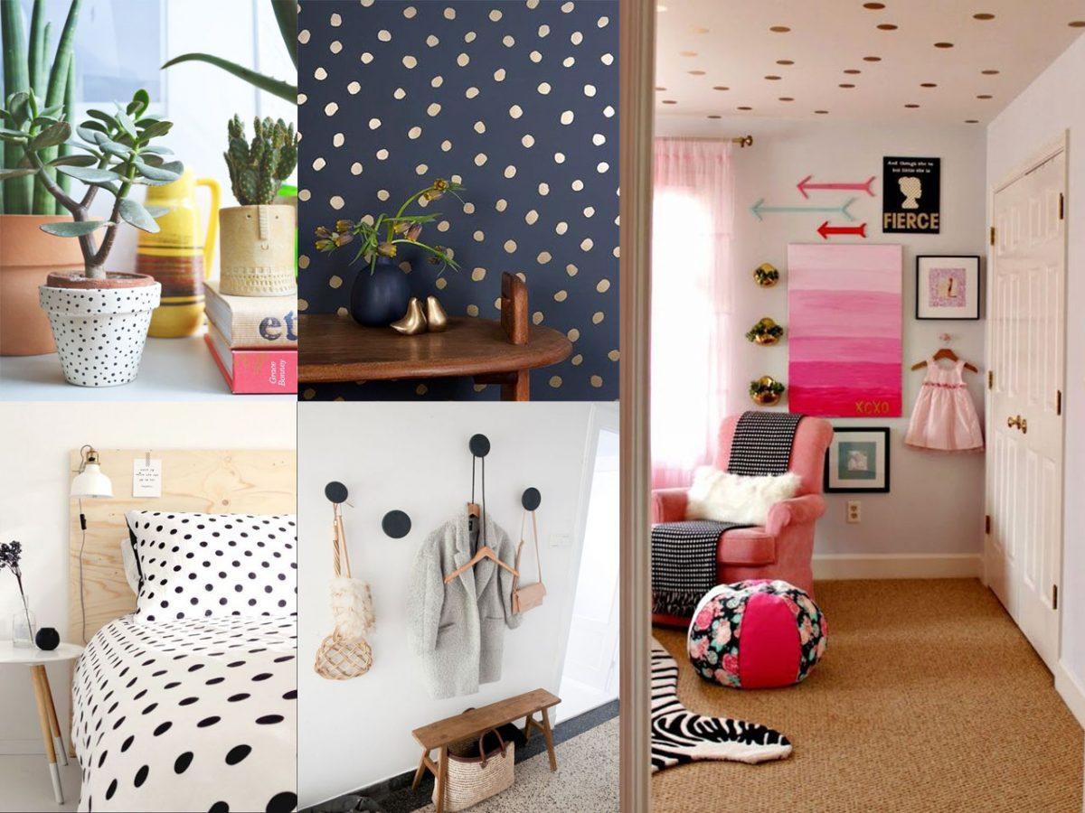 Todo sobre la decoración con topos para tu hogar