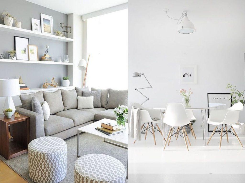 Habitaciones del mismo color