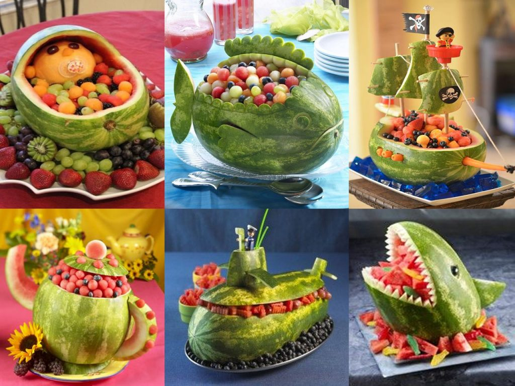 7 refrescantes ideas de decoraci n con frutas for Decoracion de frutas para fiestas infantiles