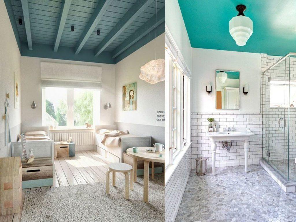 7 errores al pintar en casa y c mo evitarlos - Como pintar techos ...