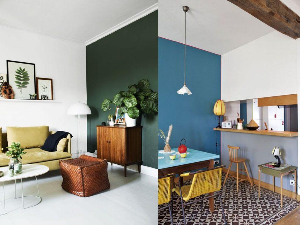 Arriesgate a pintar las habitaciones