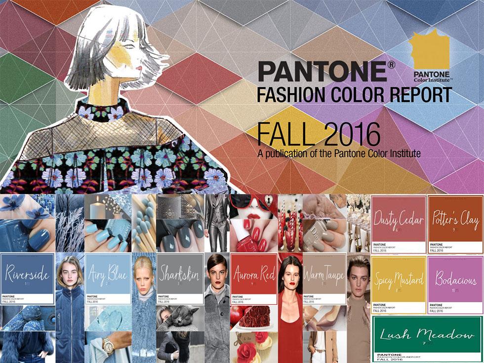 Colores Pantone Otoño 2016: Los nuevos tonos que están por llegar