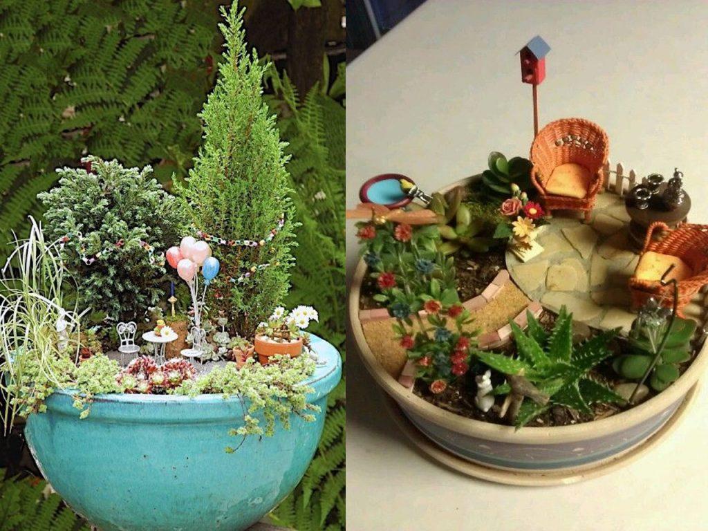 jardines en miniatura muy originales