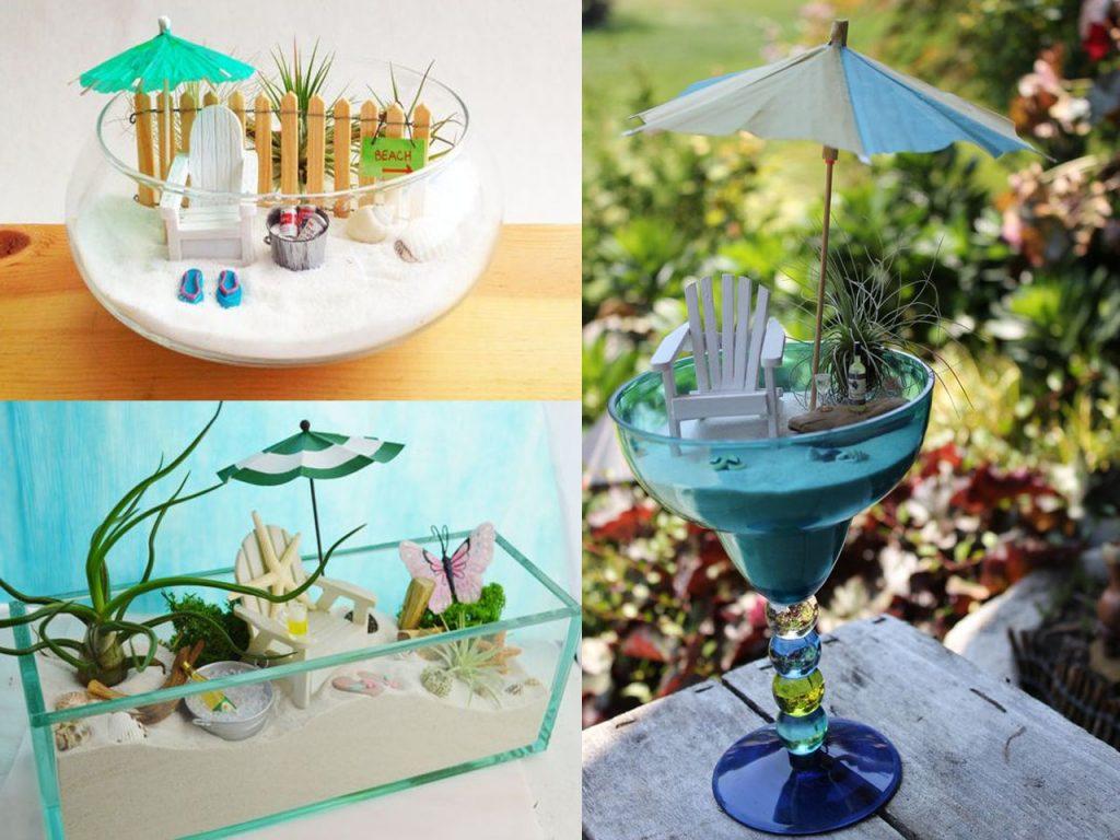 7 jardines en miniatura muy originales