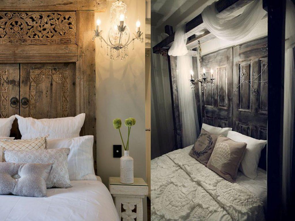 7 fant sticas ideas para reciclar puertas de madera - Puertas de madera decoradas ...