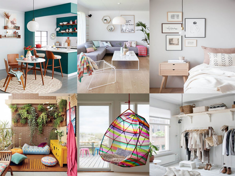 Las 10 claves básicas para decorar tu primer piso