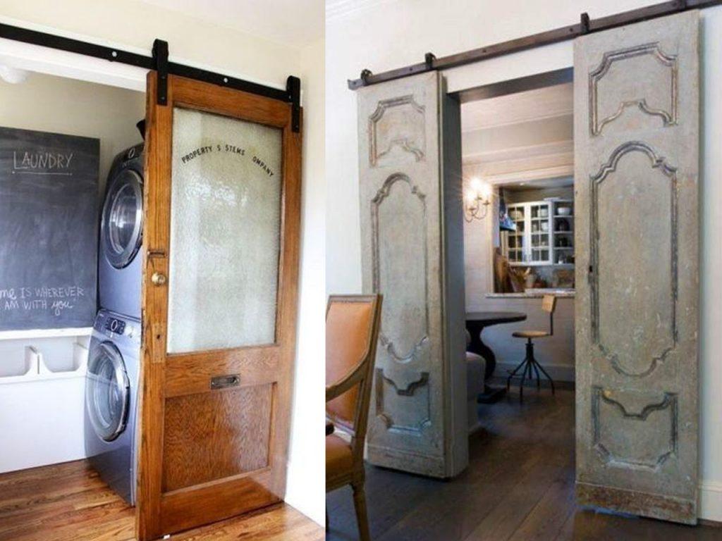7 fant sticas ideas para reciclar puertas de madera