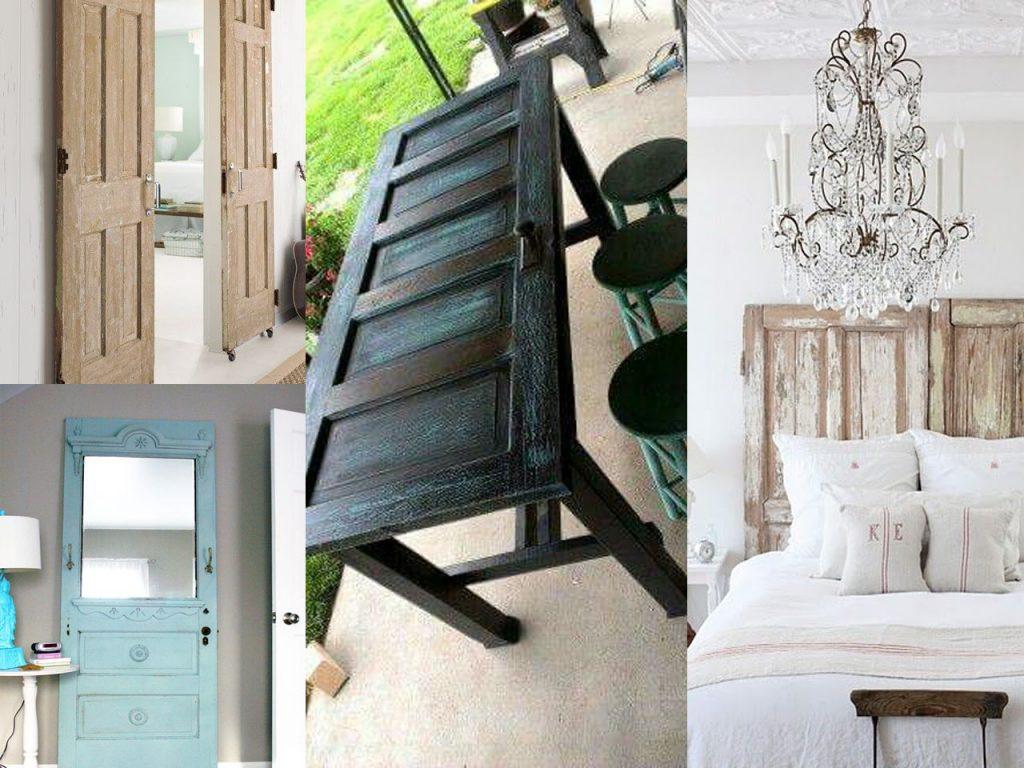 7 fant sticas ideas para reciclar puertas de madera for Decoracion con puertas antiguas