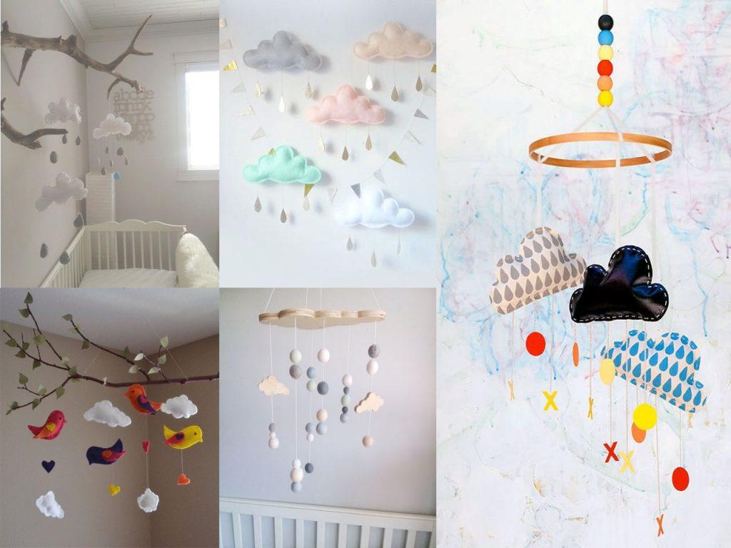 9 ideas de decoraci n con nubes para tu hogar for Adornos para pieza de bebe