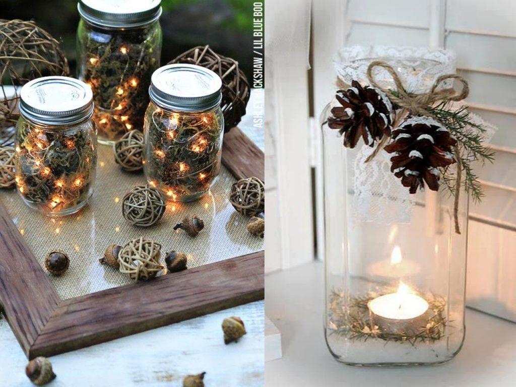 Botes cristal para Navidad