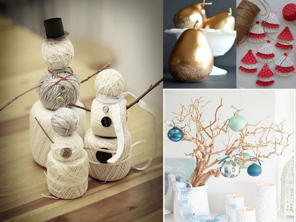 decoración navideña económica