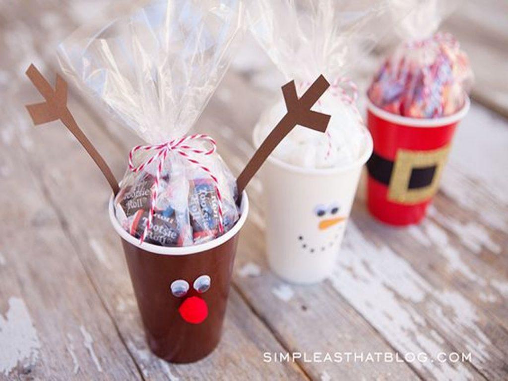 tazas regalos Navidad DIY
