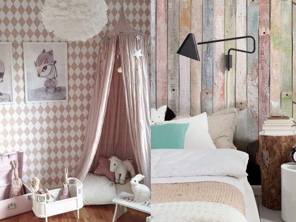 paredes decoración de casas acogedoras