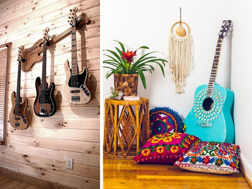 reciclar decoración musical