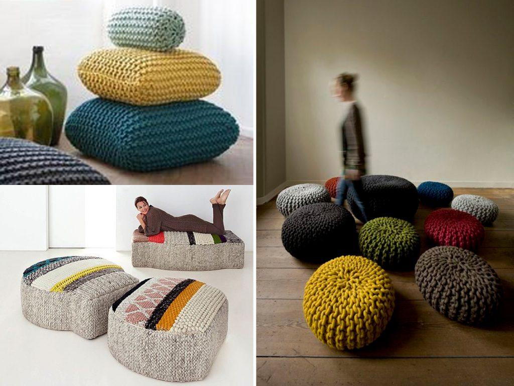 decorar con lana