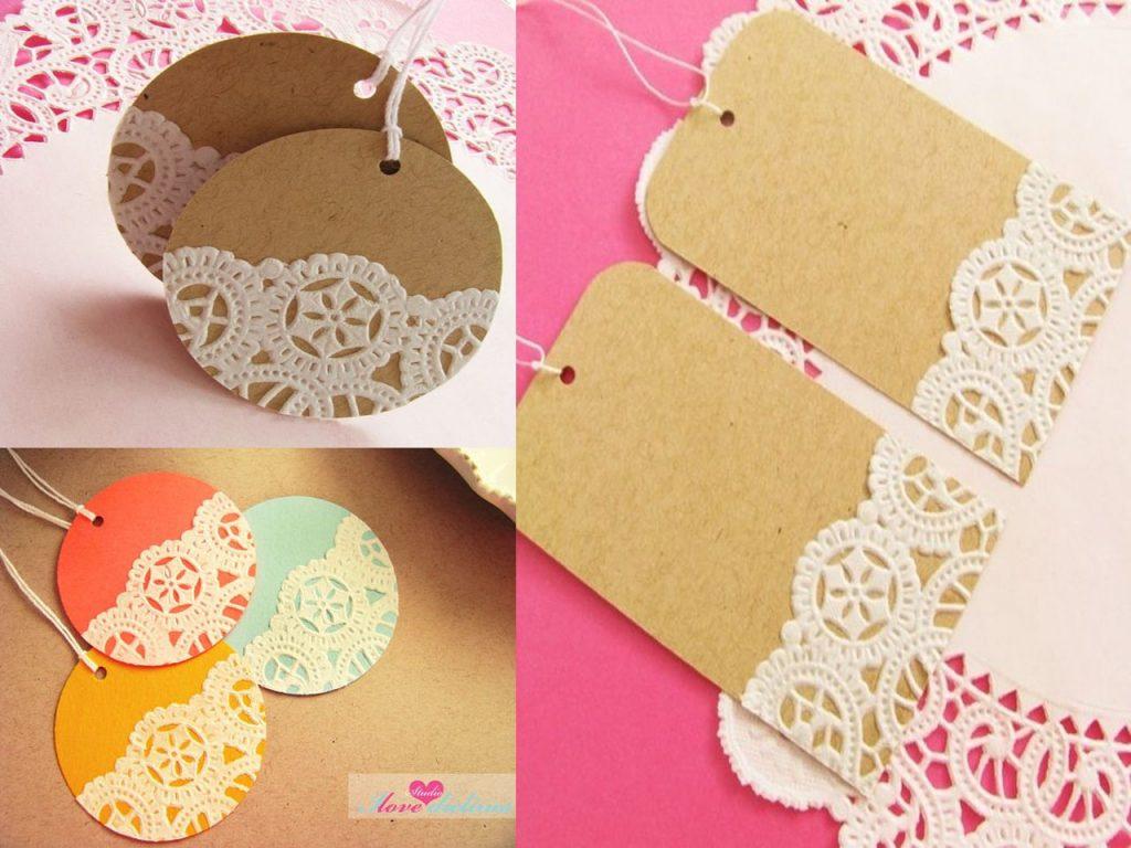 8 etiquetas de navidad diy para sorprender con tus regalos - Blondas de papel ...