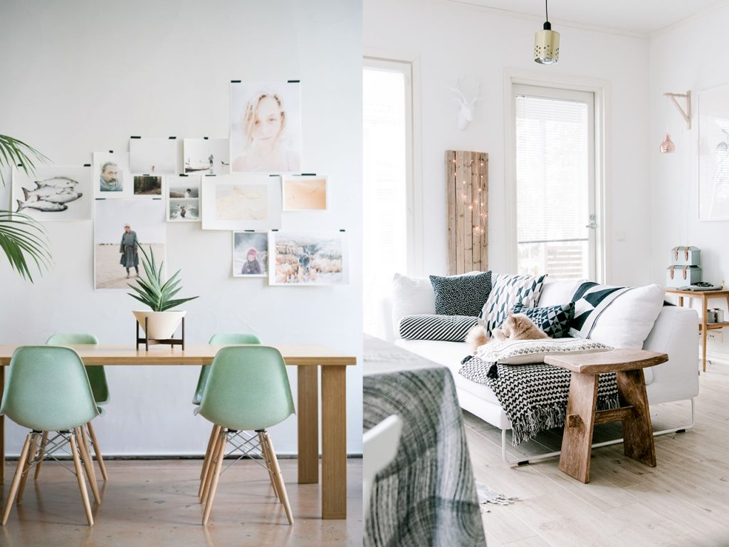 Decoraci n hygge las 10 claves de un hogar feliz y acogedor - Ideas decoracion salon pequeno ...