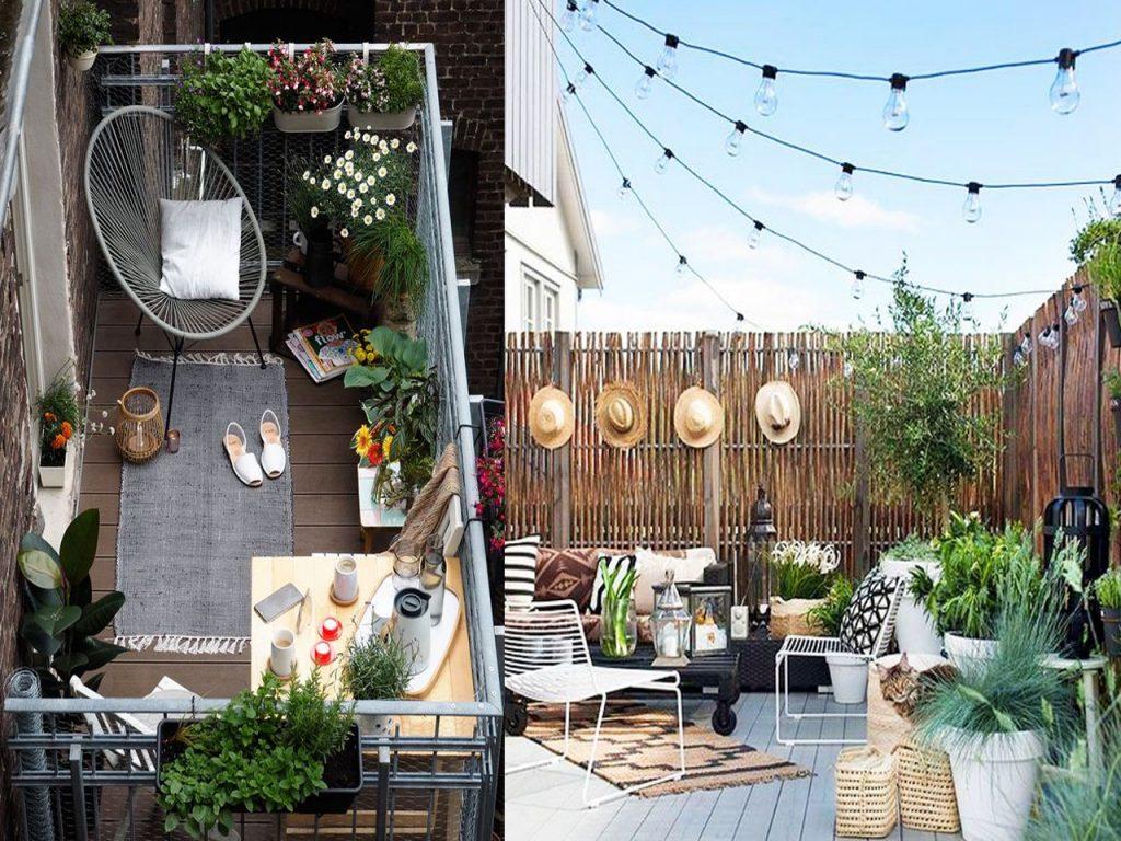 distribución decoración terraza