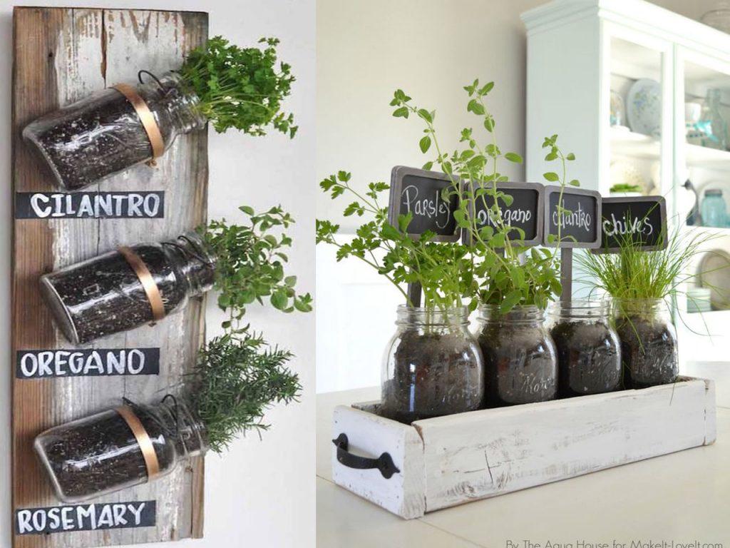 huerto en casa plantas aromáticas