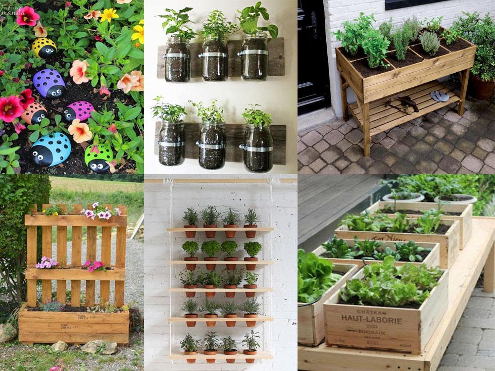 Ideas para cultivar un huerto en casa for Plantaciones verticales