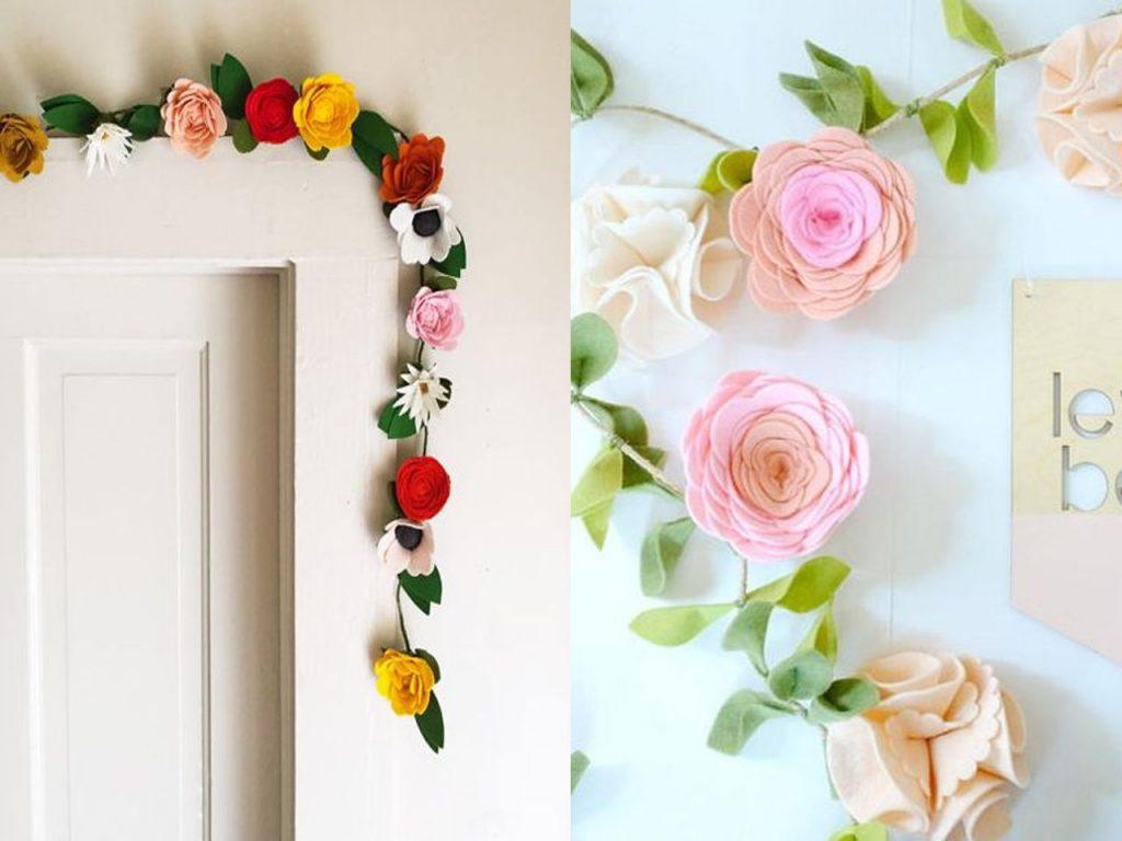 decoración con rosas bonitas
