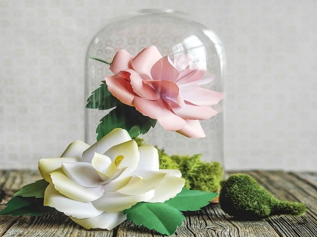 decoración con rosas DIY