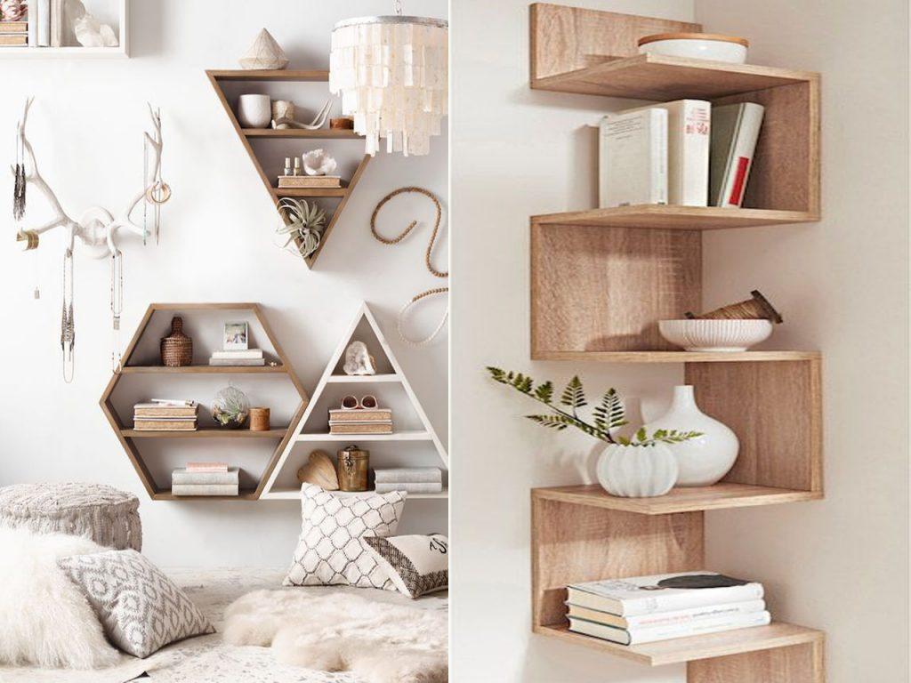 complementos decoración estantería