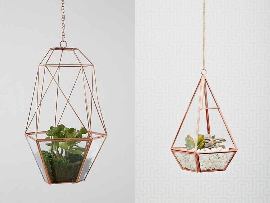 complementos decoración terrarios metal