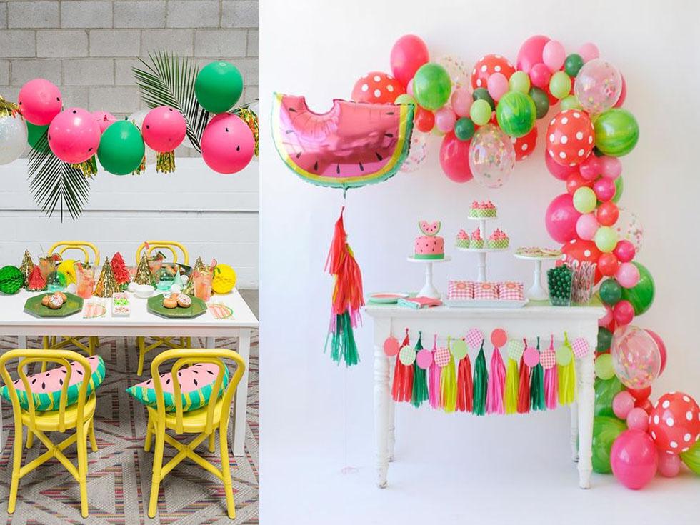 Las mejores ideas para una fiesta tropical durante este verano for Como secar frutas para decoracion