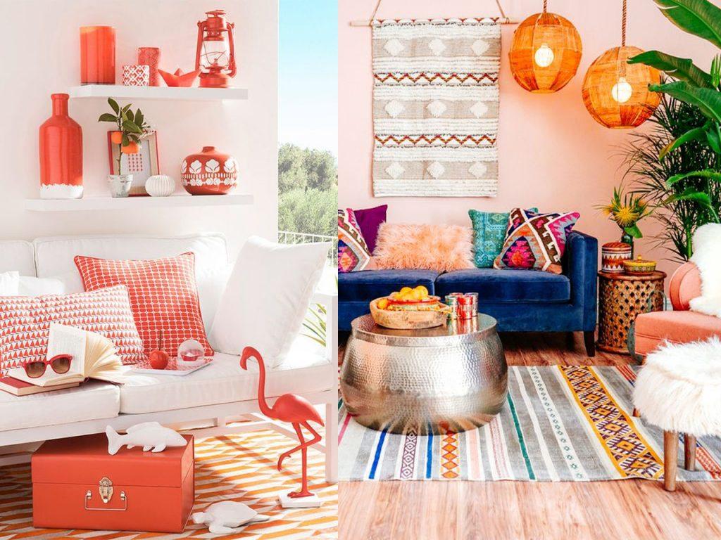 detalles llenos de energía con la decoración naranja
