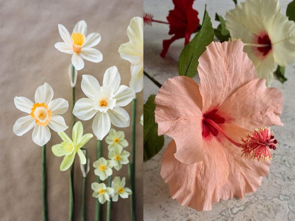 flores de papel bonitas