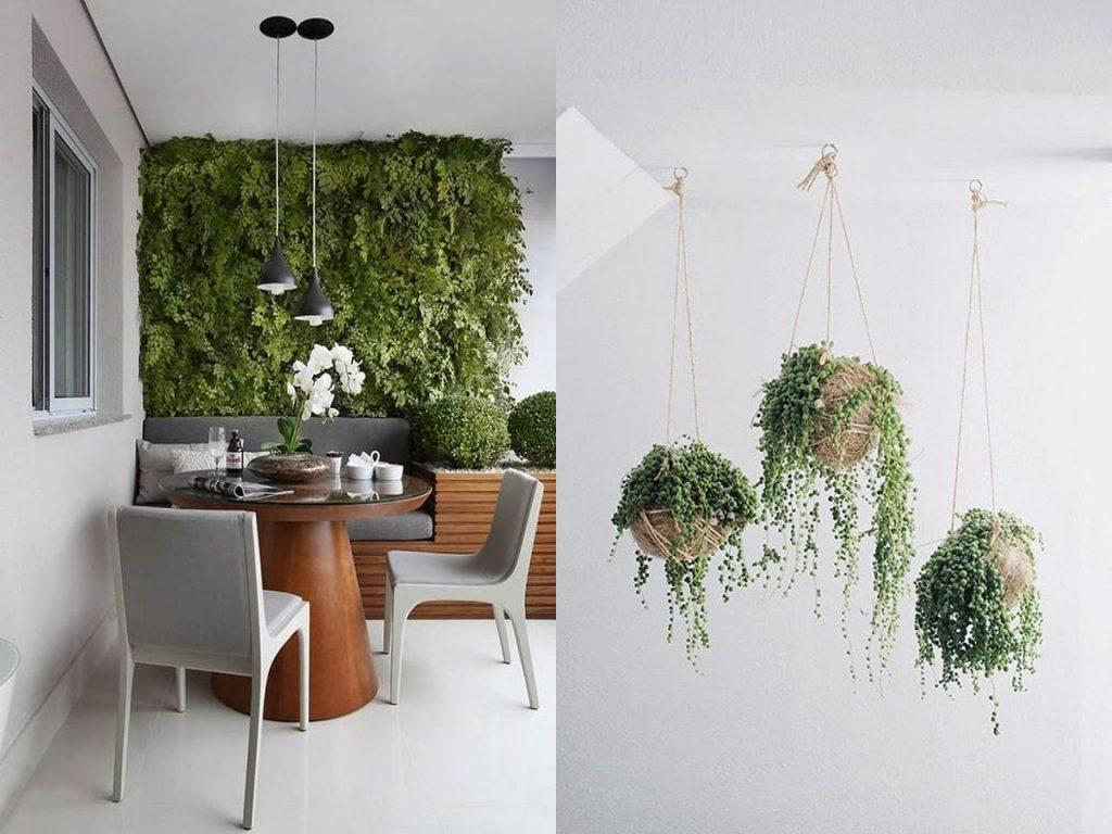 Ideas para la decoraci n terrazas o balcones que te vas a - Maceteros colgantes para balcones ...