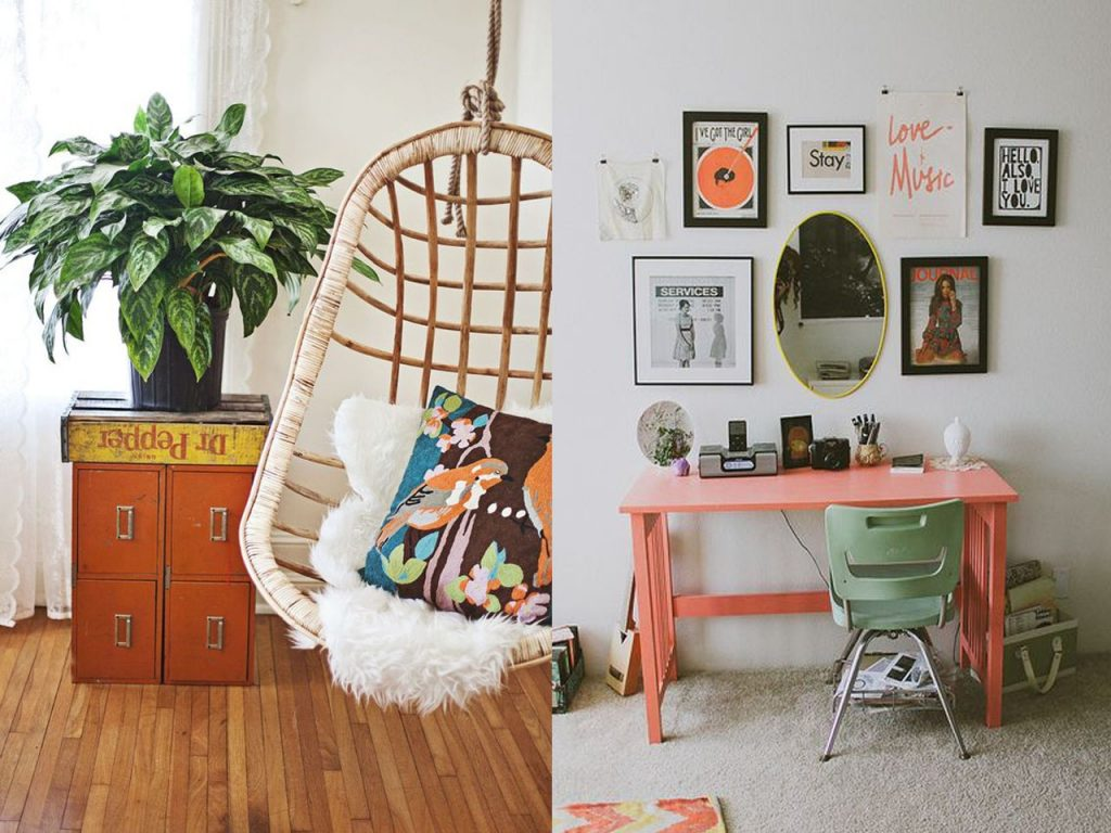 toques de vida con la decoración naranja