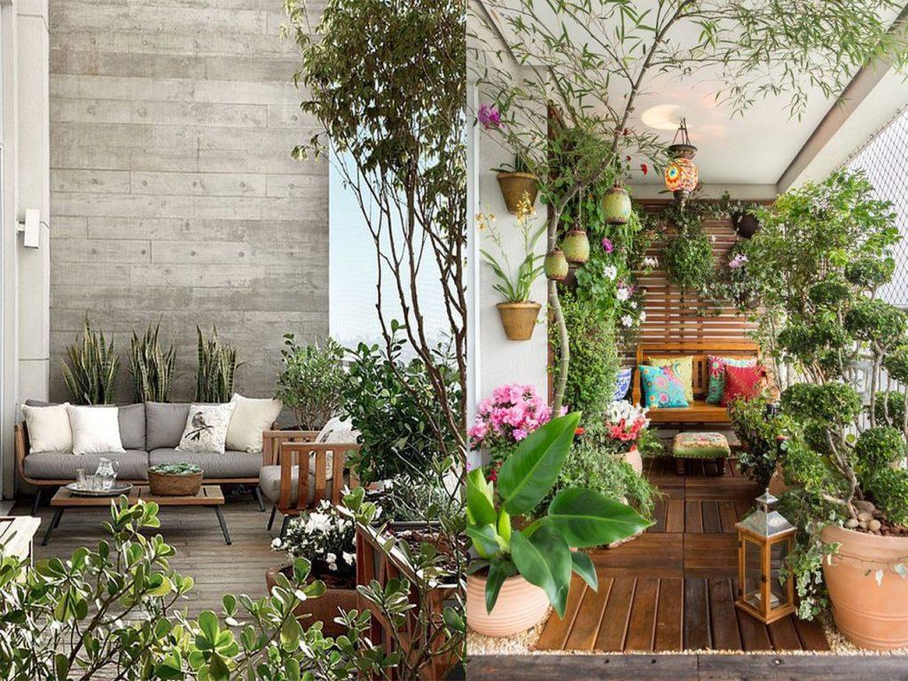 ideas para la decoraci n terrazas o balcones que te vas a