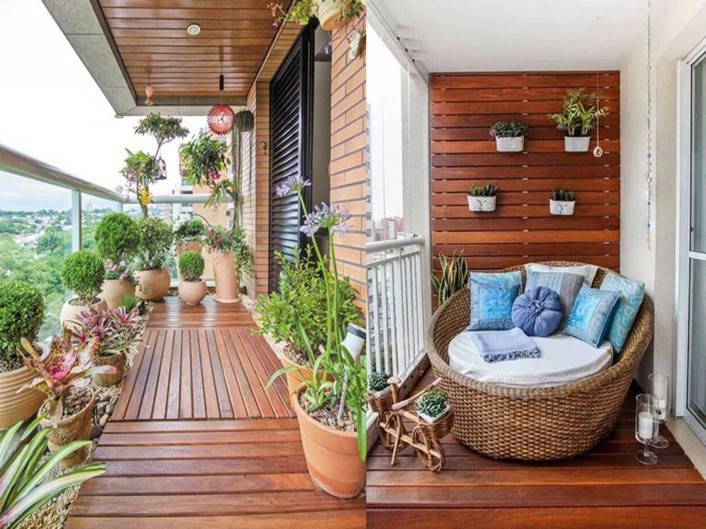 Ideas para la decoraci n terrazas o balcones que te vas a for Ideas suelo terraza