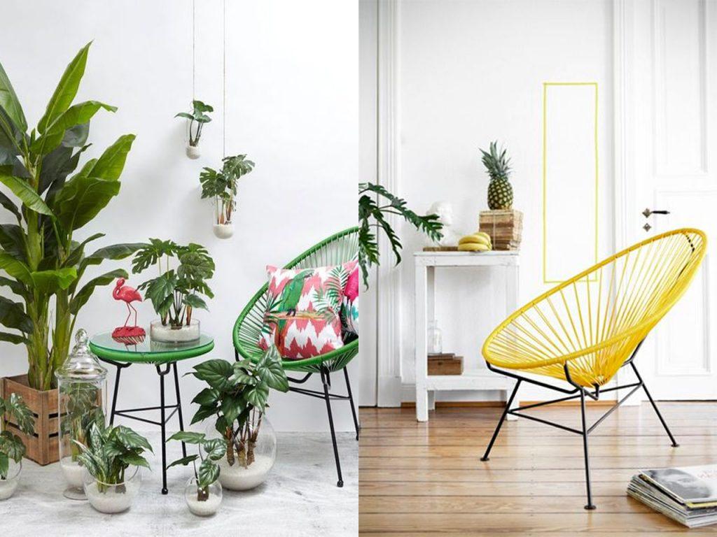 sofás para este verano sillas acapulco