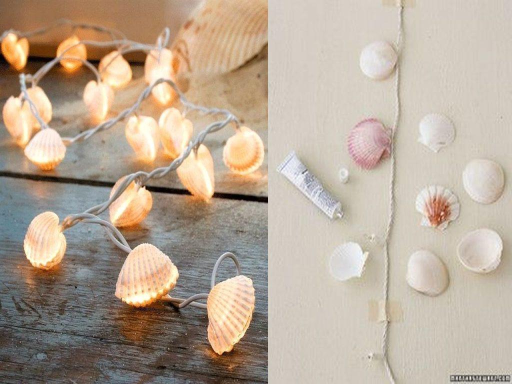 guirnaldas de conchas de mar