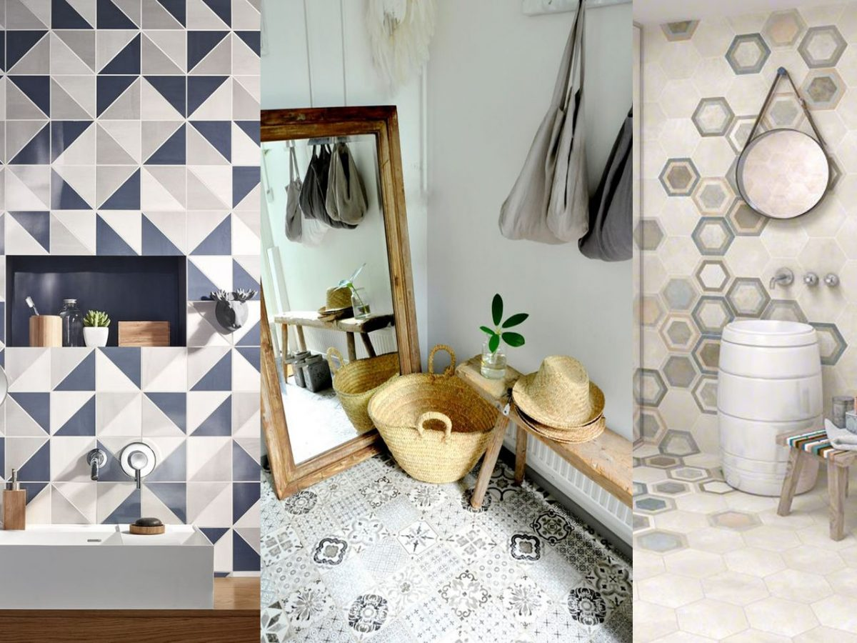El toque clásico y chic de las baldosas hidráulicas en tu hogar