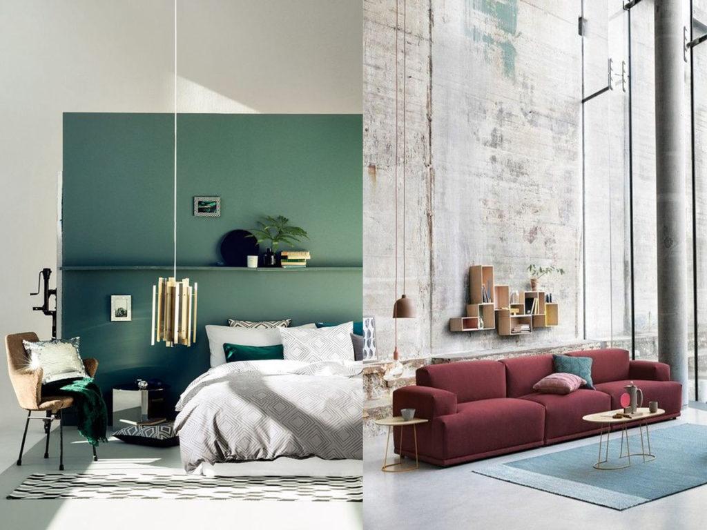tendencias decorativas Otoño 2017 colores temporada para el hogar