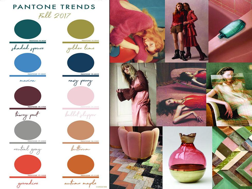 Tendencias: Los 10 Colores Pantone para Otoño 2017