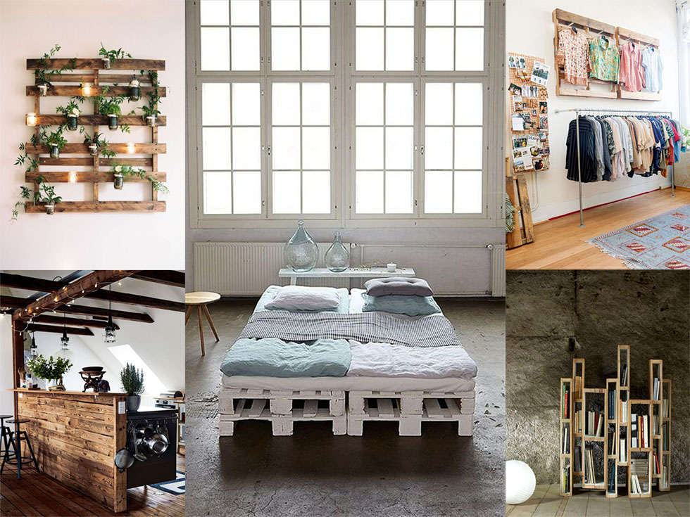 50 fant sticas ideas de muebles con palets reciclados for Casas de muebles en montevideo
