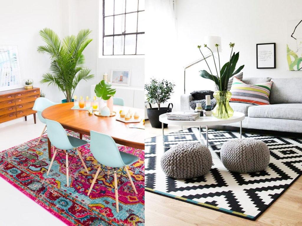 7 tips de decoraci n con alfombras que cambiar n tu hogar for Alfombras el mundo