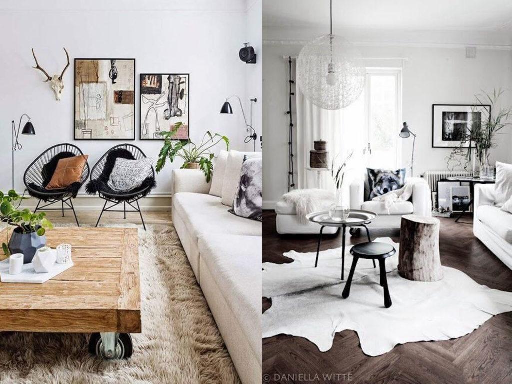decoración con alfombras confortables