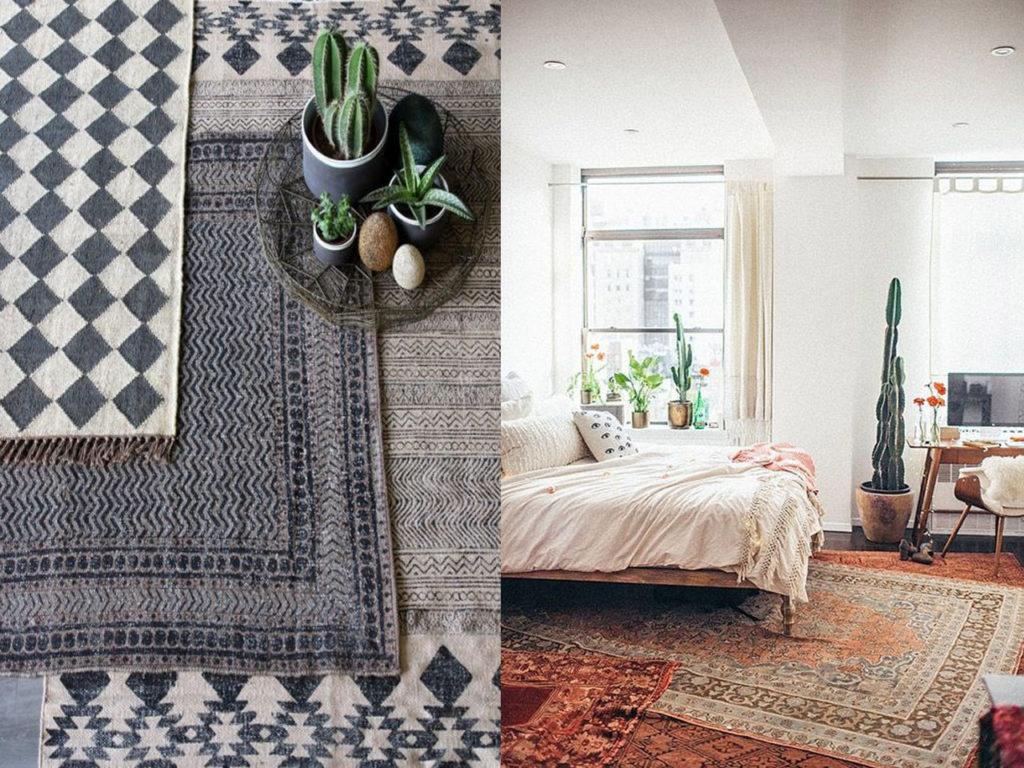 7 tips de decoraci n con alfombras que cambiar n tu hogar - Decorar con alfombras ...